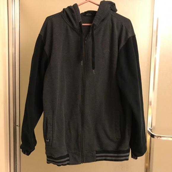Vans hoodie jacket